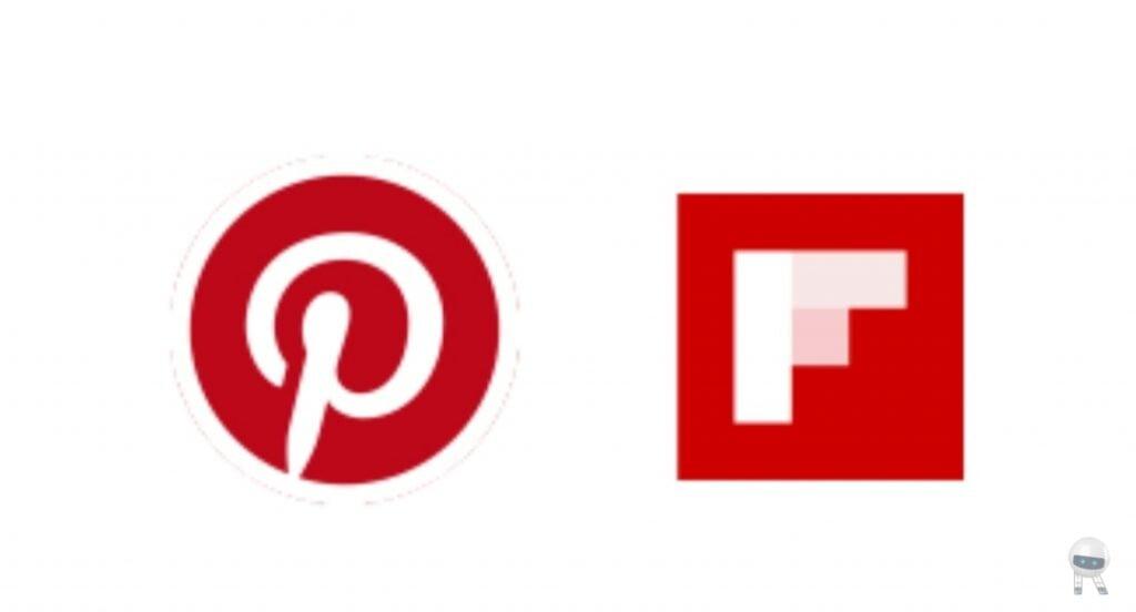 Flipboard,Pinterest